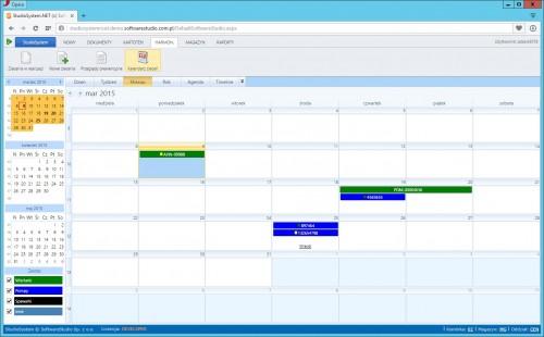 oprogramowanie służby utrzymania ruchu kalendarz zleceń